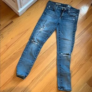 "AG Jeans The Legging Ankle"" Size 25R"